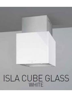 Campana Isla NODOR Cube 62cm Blanco
