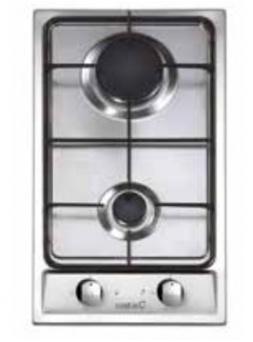Placa Modular CATA GI302 Inox 2f But Nat