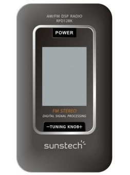 Audio Porttil SUNSTECH RPD12BK