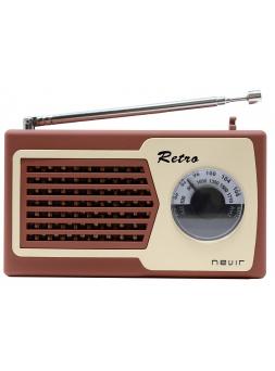 Audio Porttil NEVIR NVR200MARRON