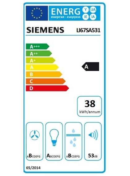 Campana Telescópica SIEMENS LI67SA531 - Domesticos