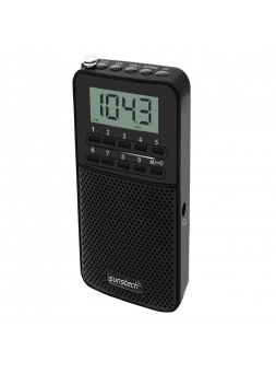 Radio Porttil SUNSTECH RPDS81BK