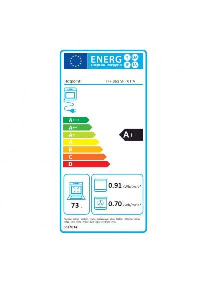 Horno multifunci n hotpoint fi7861spixha domesticos for Hornos domesticos electricos