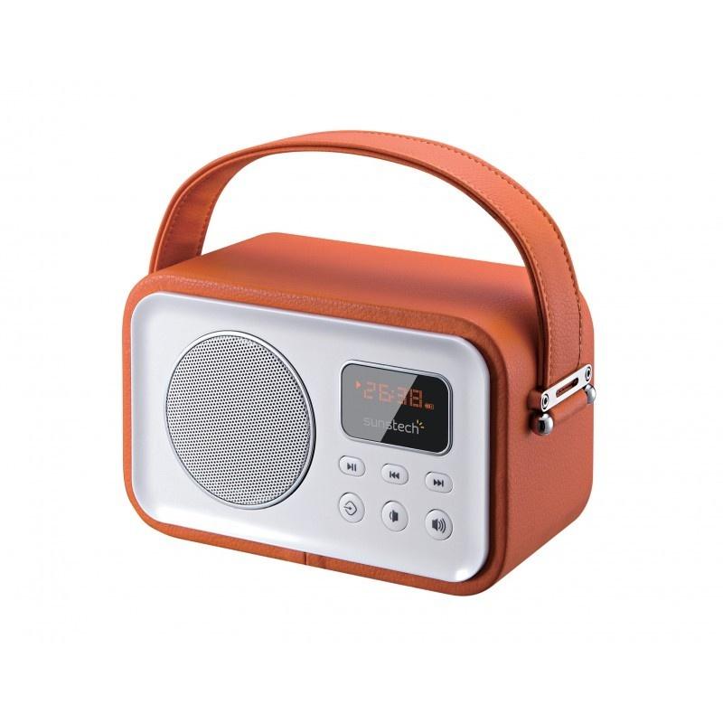 Radio Portátil SUNSTECH RPBT450OR