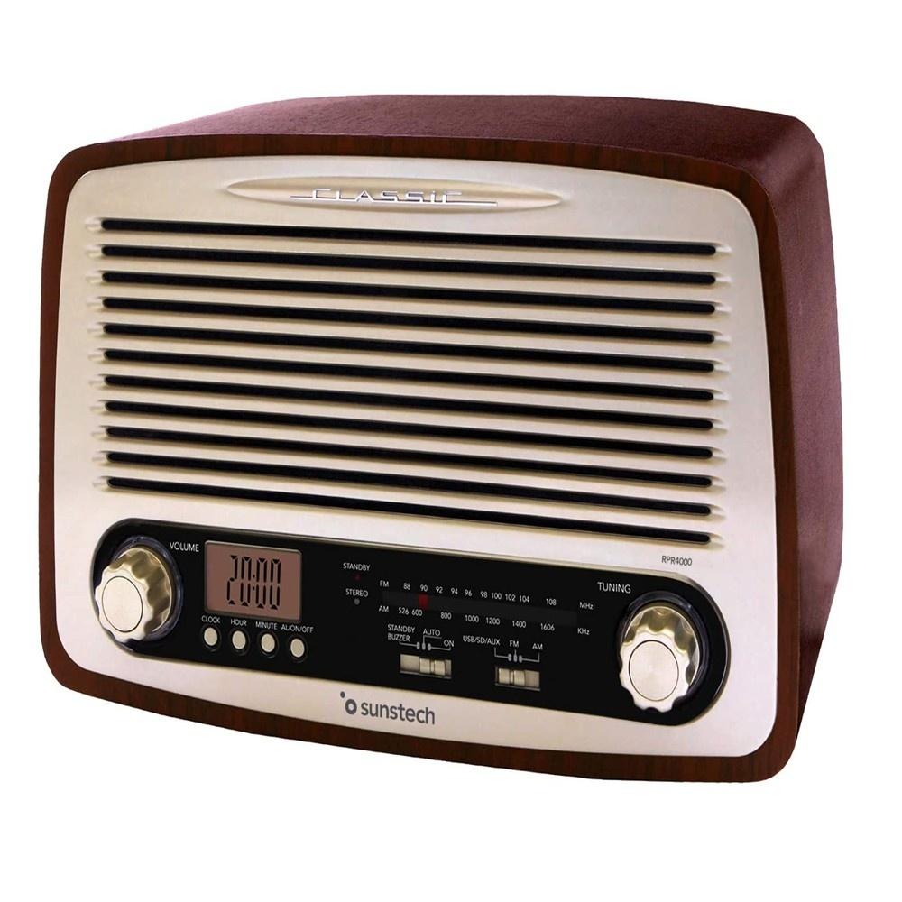 Radio Portátil SUNSTECH RPR4000WD